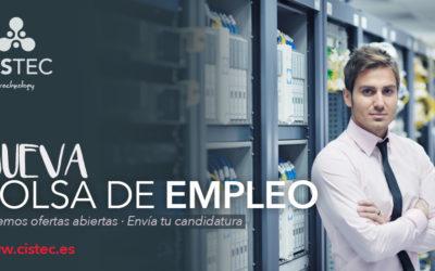 Nueva oferta en nuestra Bolsa de Empleo ¡Infórmate!