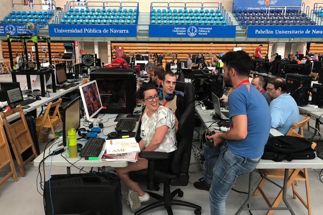 nlp3 1030x687 - Éxito de la Navarra LAN Party que logra reunir a medio millar de internautas