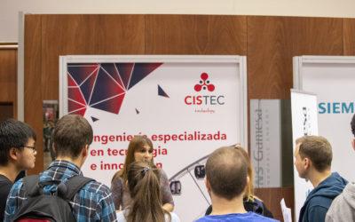 CISTEC Technology acude al XI Encuentro de Empleo y Emprendimiento de la UPNA