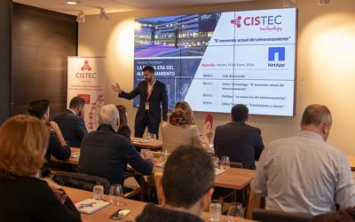 Cistec y NetApp se unen para hablar de tendencias de almacenamiento de datos