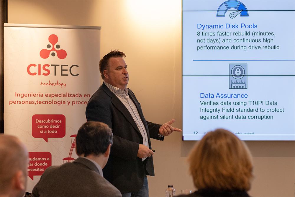 IMG 6298 - Cistec y NetApp se unen para hablar de tendencias de almacenamiento de datos