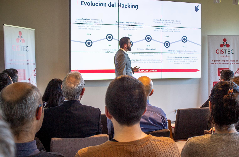 evolucion hacking - Celebramos nuestro segundo snap tecnológico sobre Ciberseguridad