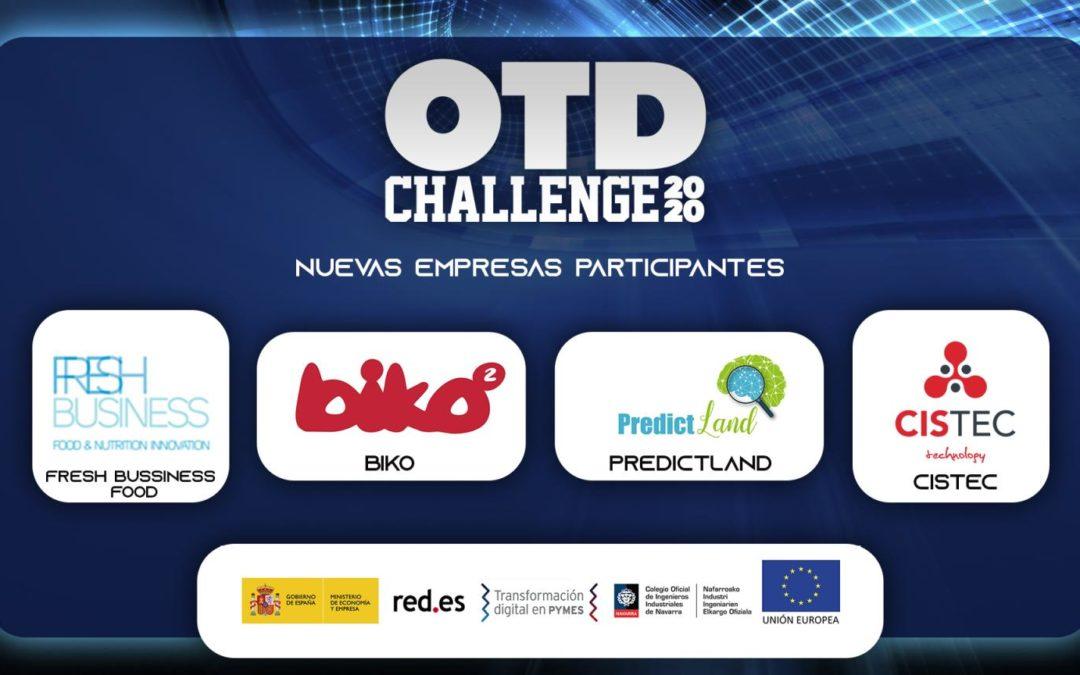 Confirmada nuestra participación en #OTDChallenge2020