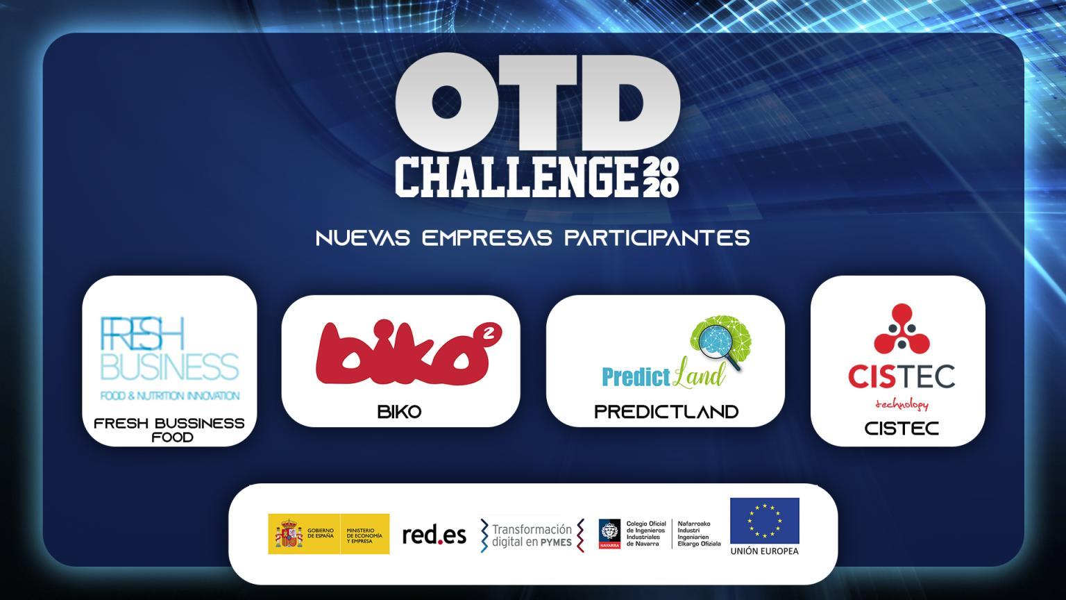 0 - Confirmada nuestra participación en #OTDChallenge2020