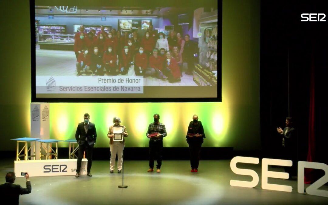 Cistec Technology entrega un galardón en los Premios SER Navarra