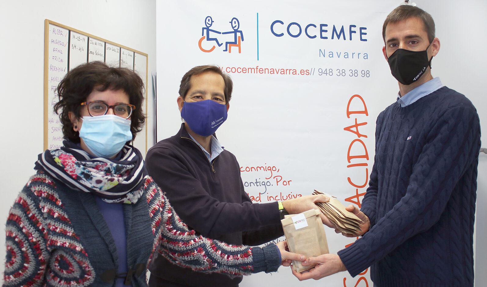 cistec cocemfe e1612168654121 - Cistec Technology promueve un acto solidario con asociaciones sin ánimo de lucro