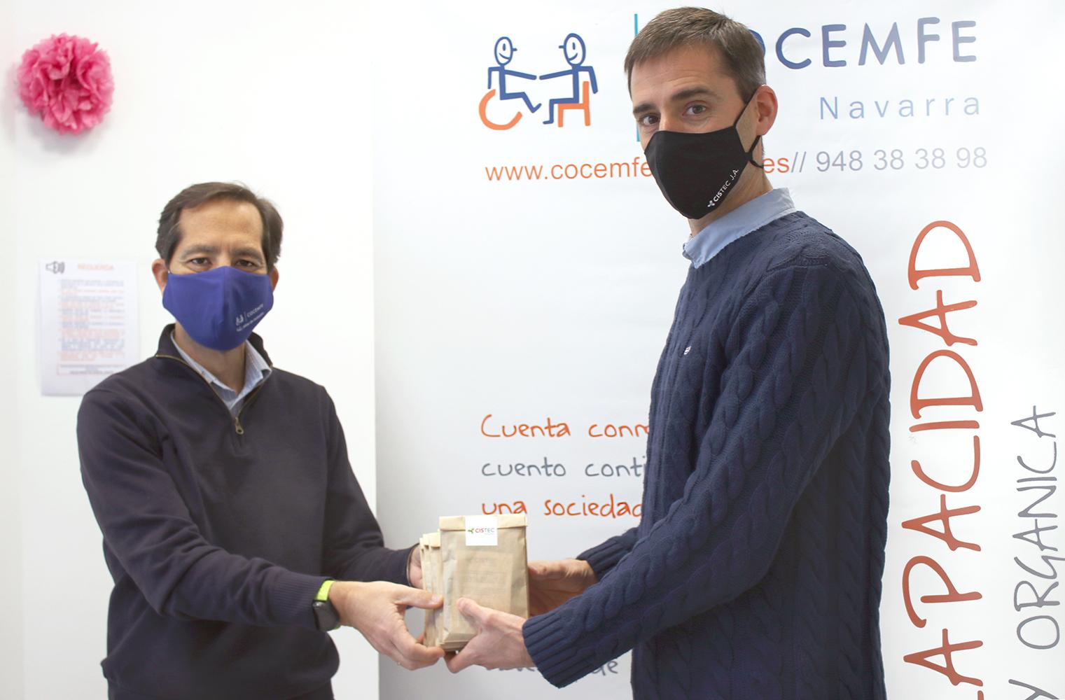 cistec cocemfe  - Cistec Technology promueve un acto solidario con asociaciones sin ánimo de lucro